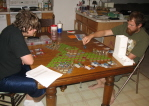 Tims Birthday - Playing Heroscape